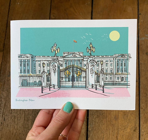 Buckingham Palace London Card