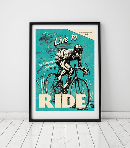 PACK of 2 Ride Print