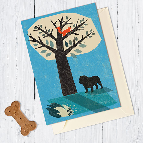 British Bulldog Card