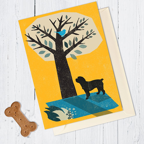 PACK of 6 Cockapoo Dog Card