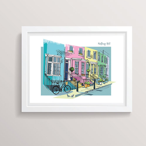 PACK of 2 Notting Hill Print
