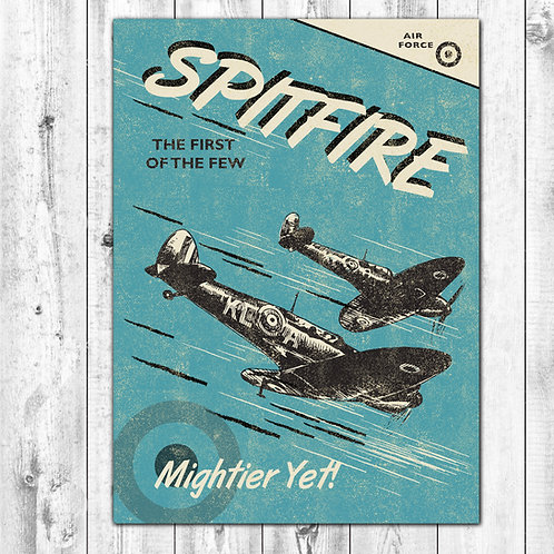 PACK of 6 Spitfire Card