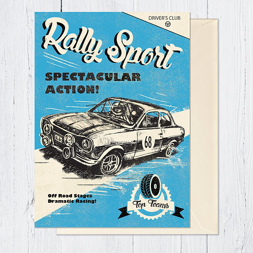 PACK of 6 Rally Sport Card