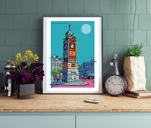 PACK of 2 Crouch End London Print