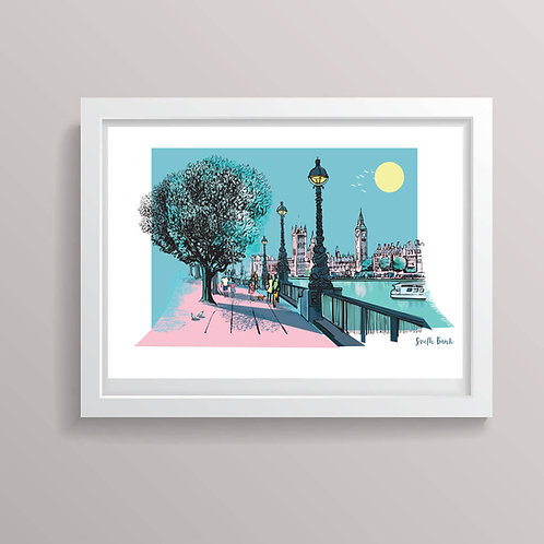 London South Bank Print
