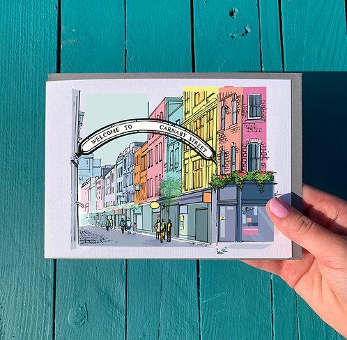 Carnaby Street London Card