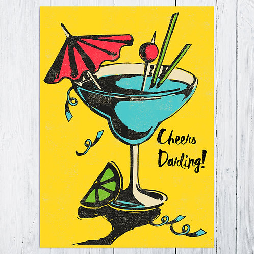 Cocktail Celebration Card