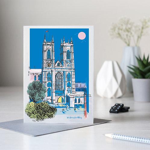 Westminster Abbey London Card