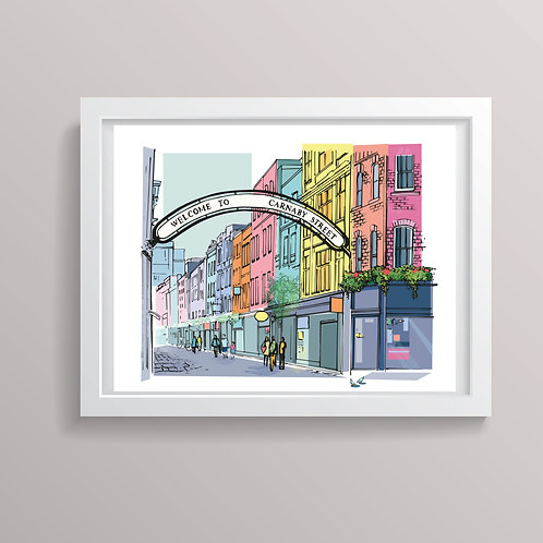 PACK of 2 Carnaby Street London Print