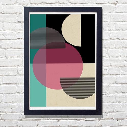 Circle Pattern Print