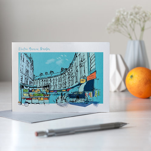 PACK of 6 Electric Avenue, Brixton Card