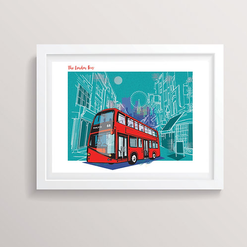 The London Bus Print