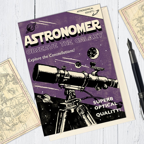 Astronomer Card