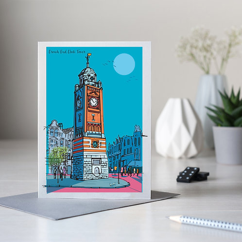 Crouch End Clock Tower Card