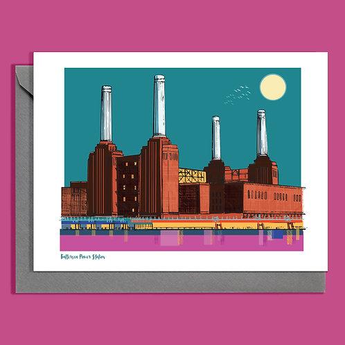 Battersea Power Station card