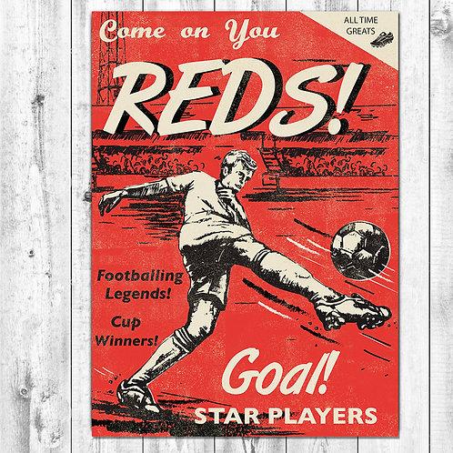 Reds Football Card