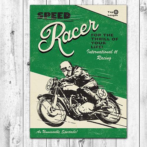 Racer Card