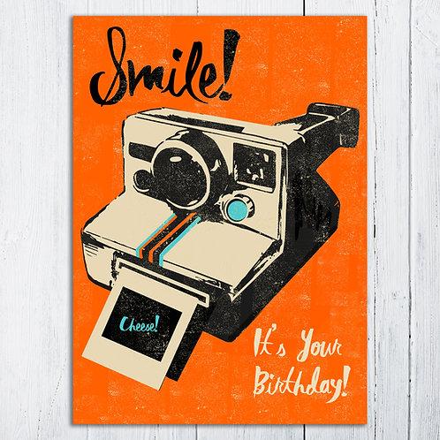 Smile Birthday Card