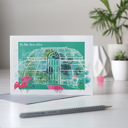 PACK of 6 The Palm House at Kew Card
