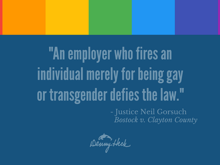 U.S. Supreme Court Issues Landmark LGBTQ Rights Decision