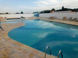 piscina de alvenaria | concreto armado