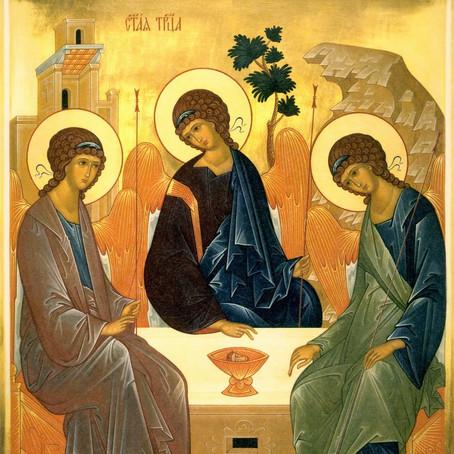 TRINDADE SANTA - Pai, Filho e Espírito Santo