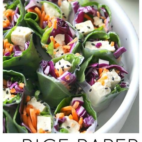 Rice Paper Veggie Rolls
