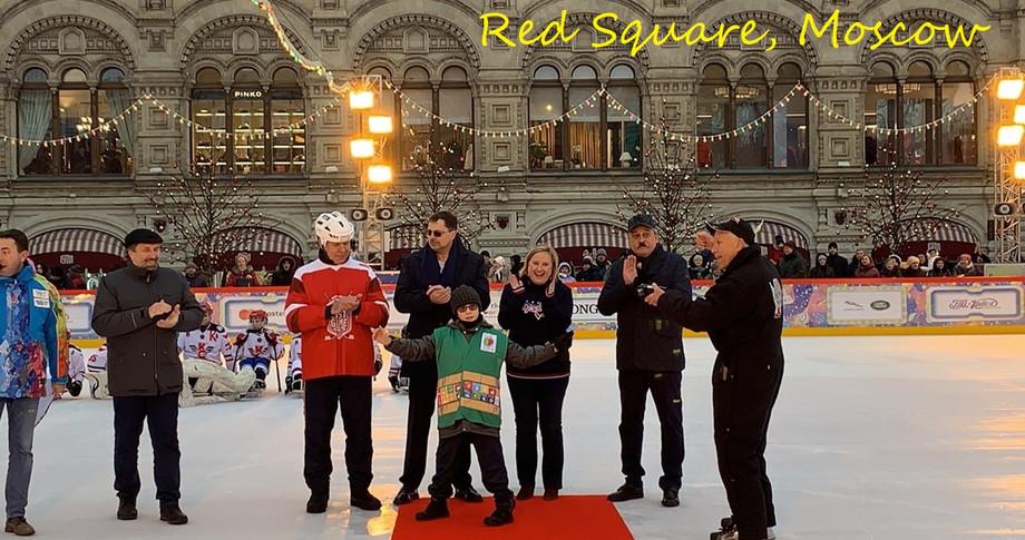 Антон на Красной площади