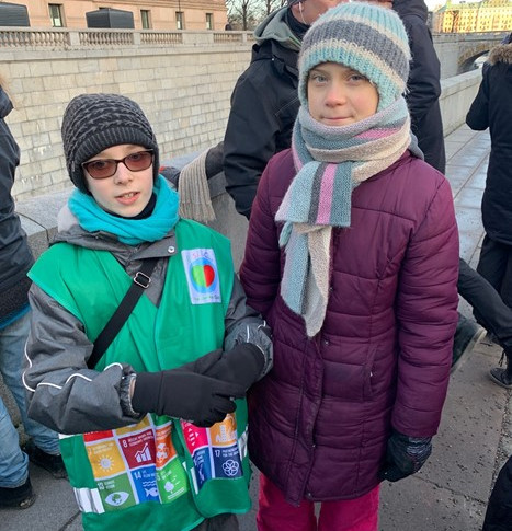 Антон Вакуленко и Гретта Тумберг