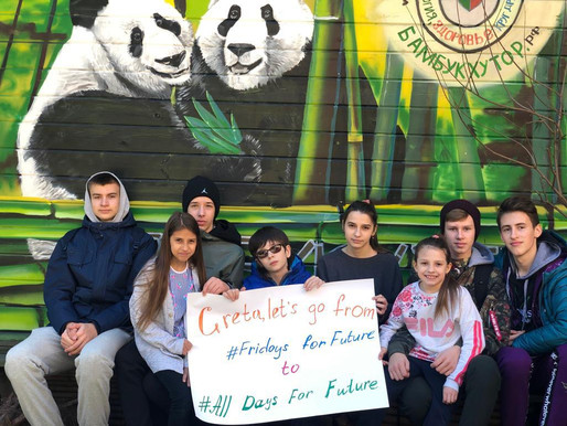 From #FridaysForFuture to #AllDaysForFuture