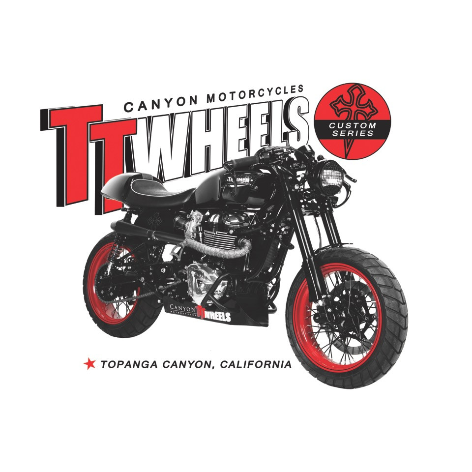 Triumph Street Twin Spoke Wheels