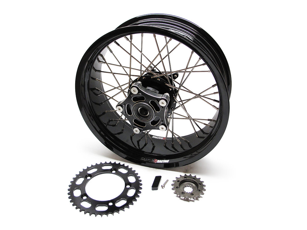 Thruxton Rear Wide Wheel Conversion Kit | Canyon Motorcycles