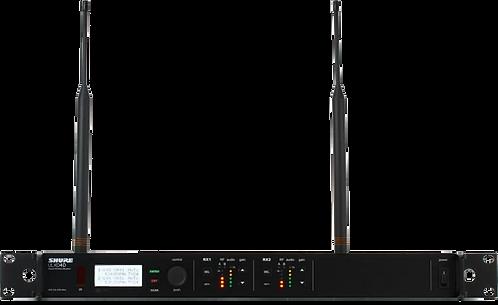Shure ULX-D4D Récepteur diversity 2 canaux 534 - 598 MHz