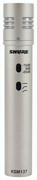 Shure KSM137 Micro statique cardio condensateur