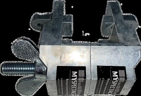 Mâchoire métallique pour praticable 2M