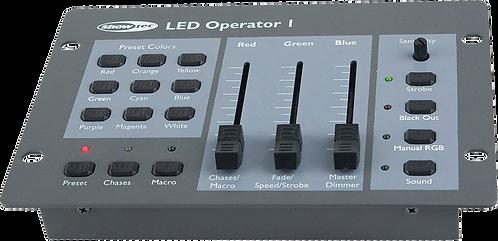 Console lumière  Showtec LED Operator 1