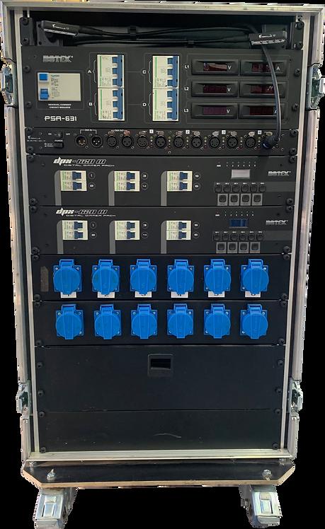 Dimmer rack Botex 12x 2,3KW + alim 63A + splitter DMX 4 out