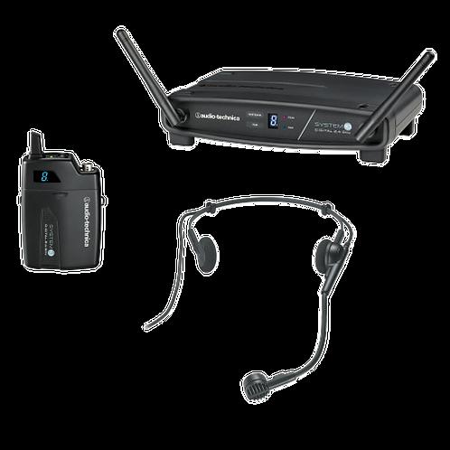 Micro HF Audio-Technica ATW-R1100EX, avec 1x émetteur poche et 2x micros casque