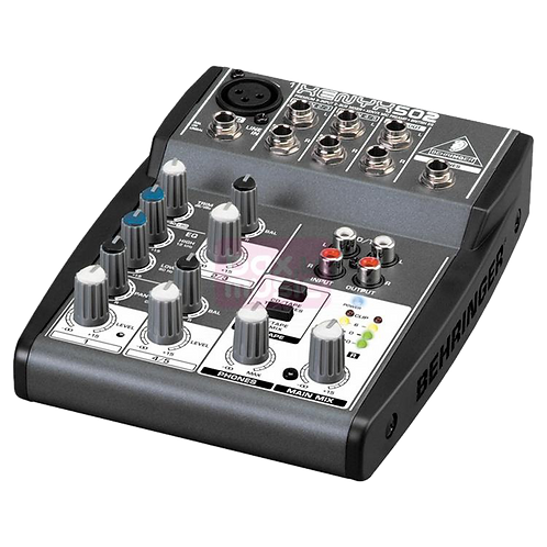 X-Audio ME 502 1in 2out Console analogique