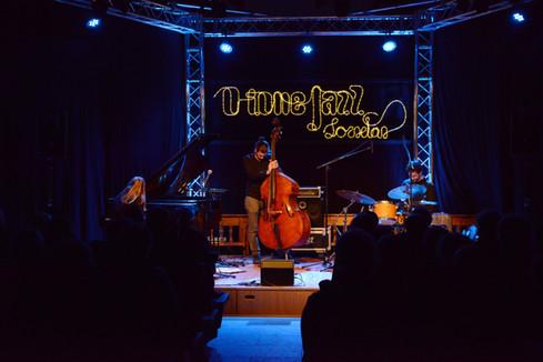 Scène concert jazz
