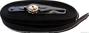 Spanset 6m x 25mm, noir, 500kg