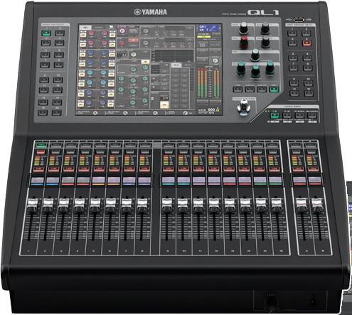 Yamaha QL1 Console numérique, 32 + 8 St, 16 MIX, 8 Matrix