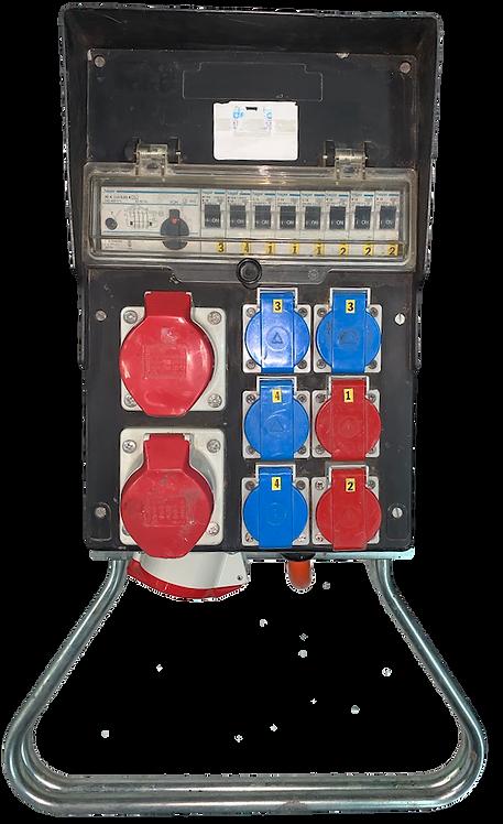 Tableau électrique Gifas 32A    2xCEE16A-2xT15-4xT13
