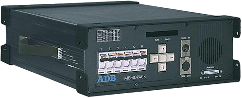 Dimmer 6x 3Kw ADB Memopack (CEE 32A)