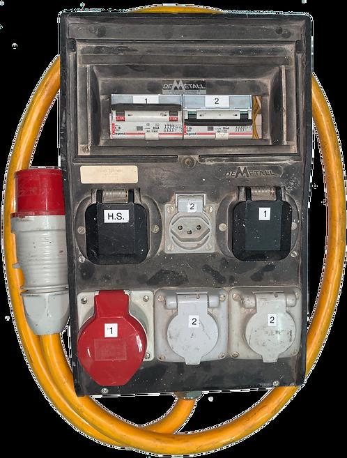 Tableau électrique Gifas 32A    1xCEE16A-1xT15-1xT13-1xT14