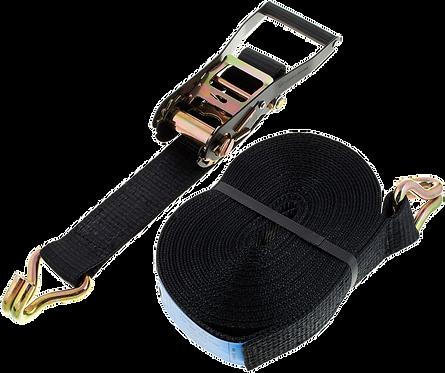 SpanSet 12m x 50mm, noire en 2 parties, 2.5T.