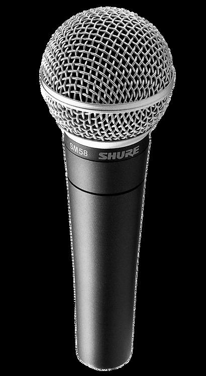 Shure SM58 Micro dynamique
