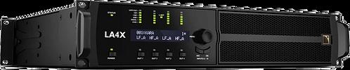 L-Acoustics LA4X contrôleur amplifié avec PFC 4x1000 W/8 Ohms. AES/EBU