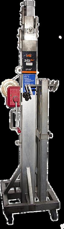 Pied de levage VMB TE-074 avec traverse de largeur 30 ou 40cm, charge max. 200Kg