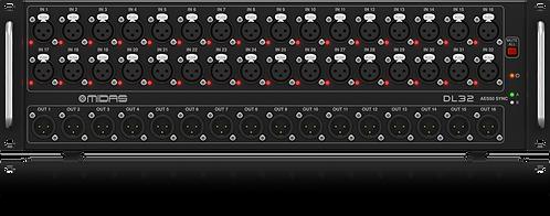 Pré-ampli Midas DL32 (32in - 16out)